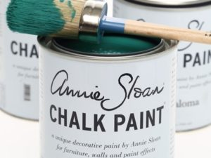 Annie Sloan Paint Can and Brush